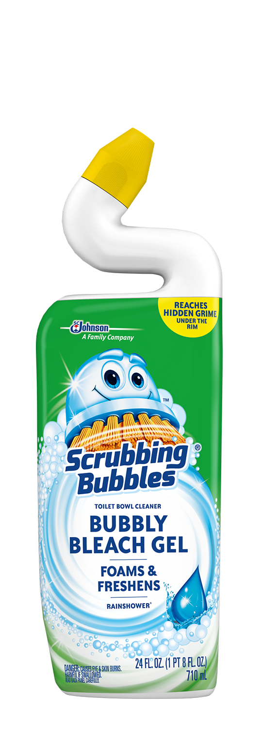 Scrubbing Bubbles Bubbly Bleach Gel Rainshower